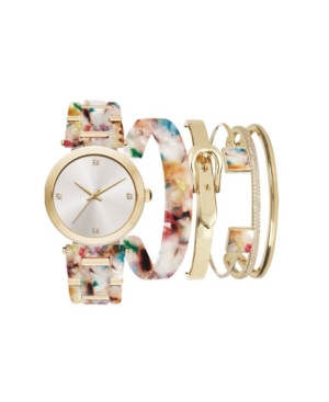 Jessica Carlyle Women's Multi Resin Multiple Strap Watch 37mm