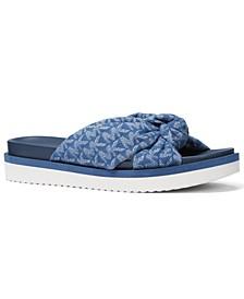 Women's Josie Knotted Slide Sandals