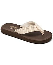 Women's Cali Asana - Hidden Valley Flip Flop Thong Sandals from Finish Line