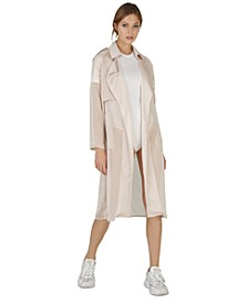 Sam Gabardine Chiffon Coat