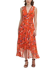 Floral-Print Maxi Dress