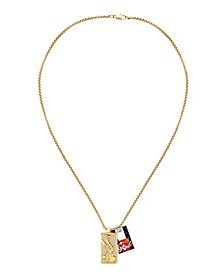 Space Jam Gold-Tone Looney Tunes Necklace