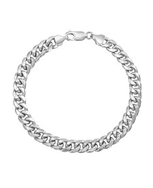 Men's Miami Cuban Link Bracelet in 10k Yellow Gold or 10k White Gold