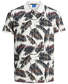 Men's Hazy Printed Polo Shirt