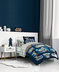 Star Wars Grogu, Baby Yoda, Reversible Comforter Sets