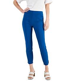 Fringe-Hem Pull-On Pants, Created for Macy's