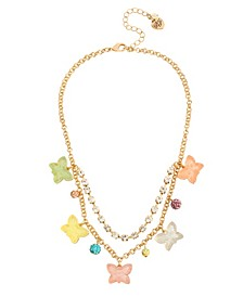 Gummy Butterfly Frontal Necklace