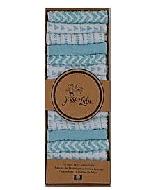 Baby Boys and Girls Washcloths, Pack of 16