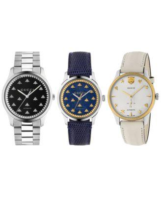 Men's Swiss Automatic G-Timeless Stainless Steel Bracelet Watch 40mm