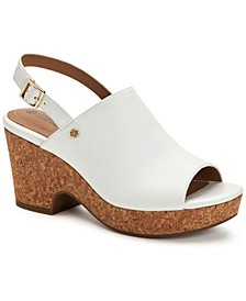 Celinaa Slingback Platform Sandals, Created for Macy's