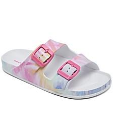 Girls Foamies- Cali Blast - Summer Dreaming Slide Sandals from Finish Line