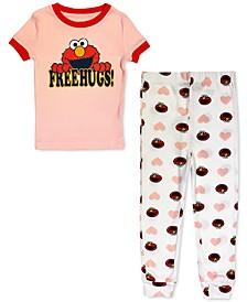 Toddler Elmo Free Hugs Family Pajama Set