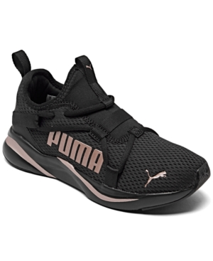 Puma Activewears BIG GIRLS SOFTRIDE RIFT POP RUNNING SNEAKERS FROM FINISH LINE