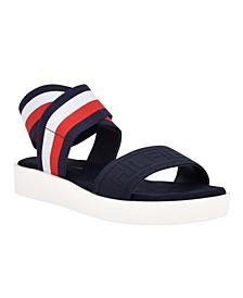 Women's Springi Stretch Ankle Wrap Sandals