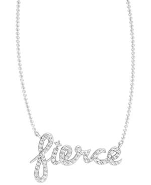 Diamond 1/4 ct. t.w. Fierce Necklace in Sterling Silver