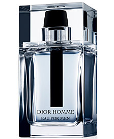 Dior Homme Eau for Men Eau de Toilette Spray, 3.4 oz.
