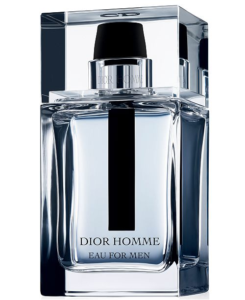 Dior Eau for Men Eau de Toilette Spray, 3.4 oz.