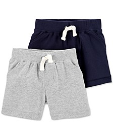 Baby Boys 2-Pack Pull-On Shorts
