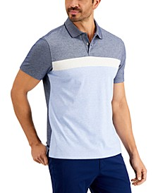 Men's Chest Striped Polo, Created for Macy's