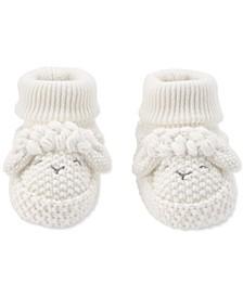 Baby Neutral Lamb Crochet Booties
