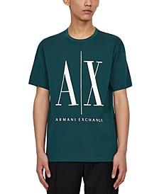 Men's Printed Icon Logo T-Shirt