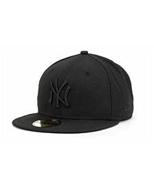 New York Yankees Black on Black Fashion 59FIFTY