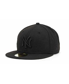 New Era New York Yankees Black on Black Fashion 59FIFTY