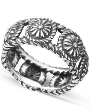 by Carolyn Pollack Sterling Silver Concha Ring