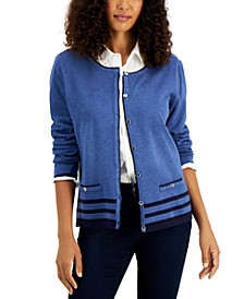 Button Down Alexa Cardigan, Created for Macy's