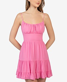 Juniors' Emma Tiered Dress