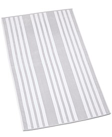"Resort Cabana Stripe Cotton 40"" x 70"" Beach Towel, Created for Macy's"
