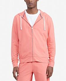 Men's Comfort Piqué Full-Zip Hoodie