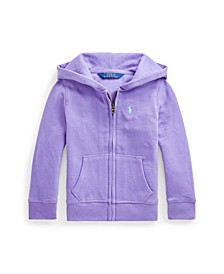 Little Girls Fleece Full-Zip Hoodie
