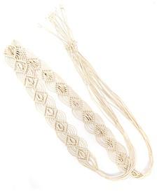 Macrame Tie Belt, Created for Macy's