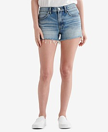 Women's Mid Rise Cut Off Shorts