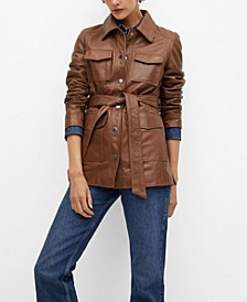 Women's Saharian Leather Jacket