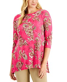 JM Collection Peyton Plumes Top, Created for Macy's