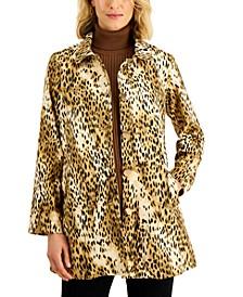 Cheetah-Print Jacket, Created for Macy's