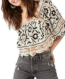 Soleil Cotton Crochet Top