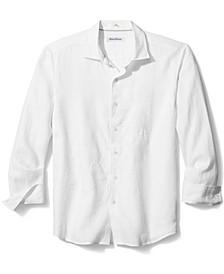 Men's Tide the Knot Floral Patterned Linen Shirt