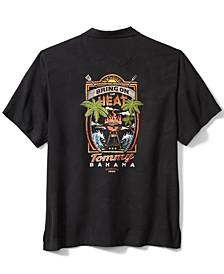 Men's Bring on the Heat Graphic Silk Short-Sleeve Shirt