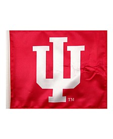 Indiana Hoosiers Car Flag