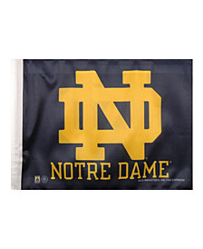 Rico Industries  Notre Dame Fighting Irish Car Flag