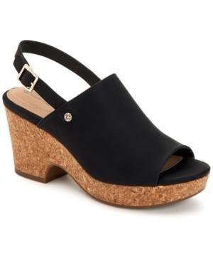 Celinaa Slingback Platform Sandals