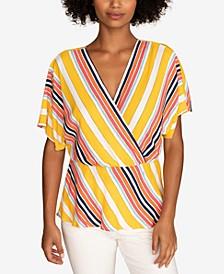 Appealing Stripe-Print Top