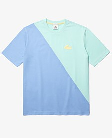 Men's Diagonally Blocked T-Shirt