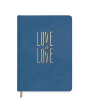 """""""""""Love Is Love"""" Suede Cloth Journal"""""""