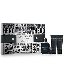 Men's 4-Pc. Mankind Hero Eau de Toilette Gift Set