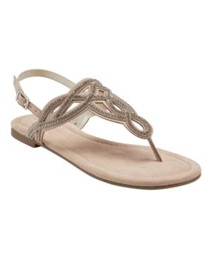 Kali T-Strap Flat Sandal Women's Shoes