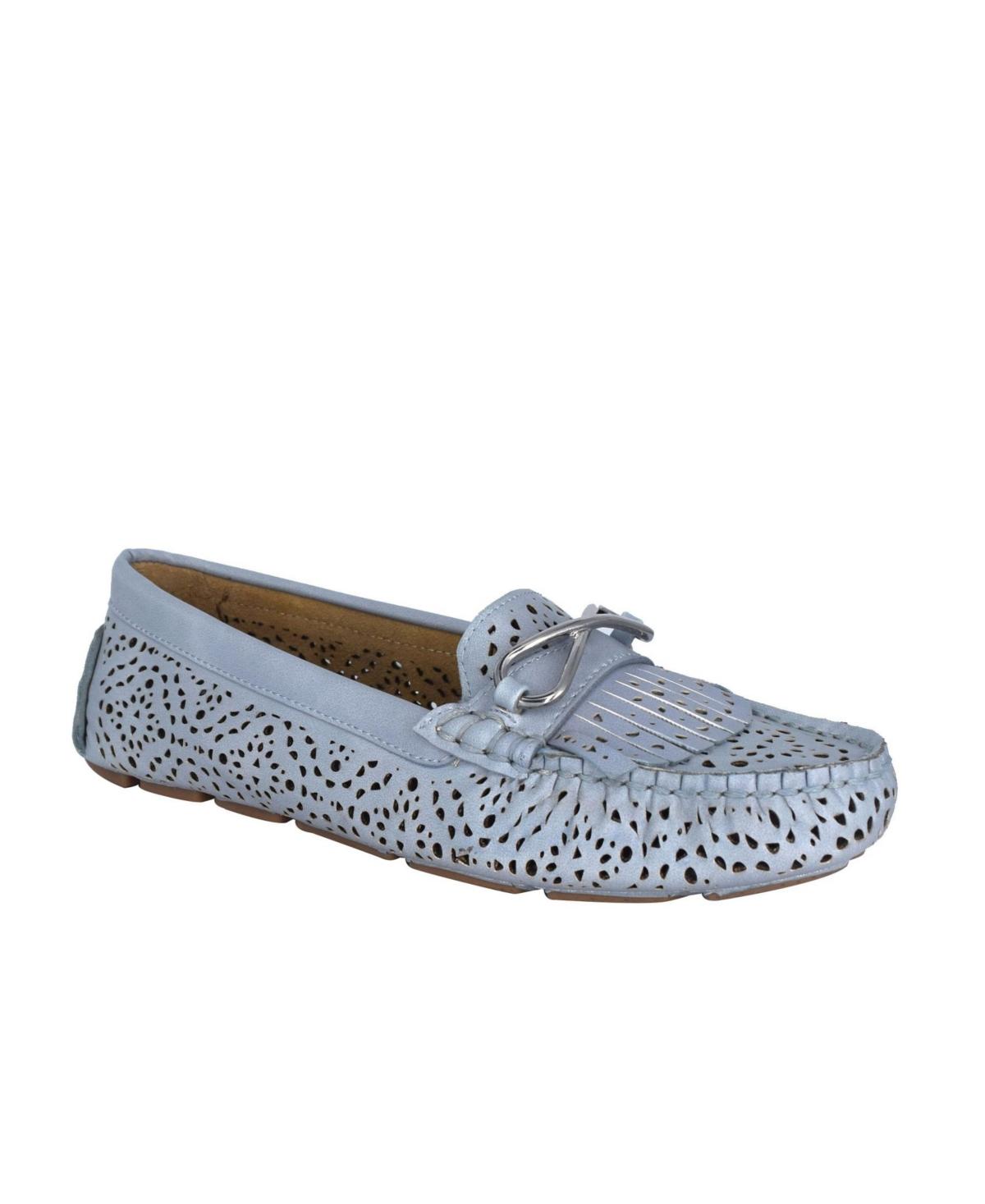 Impo Women's Cassie Laser Cut Memory Foam Loafer Women's Shoes